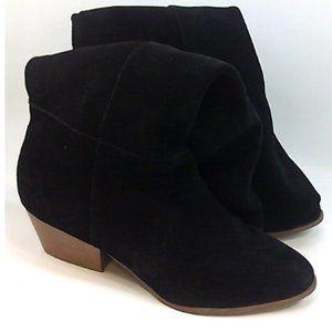 Style & Co. Womens Izalea Leather Almond Toe Boots